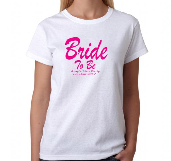 Bride To Be Hen T-shirt